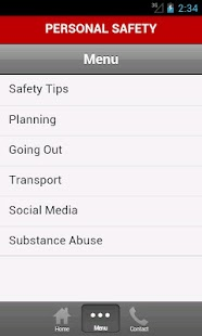 Personal Safety - screenshot thumbnail