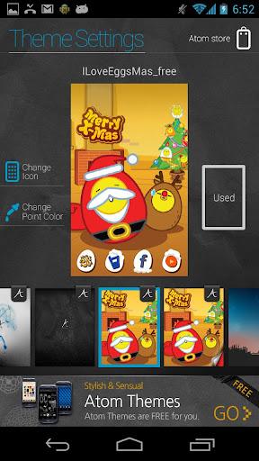 個人化必備APP下載|I Love Egg Mas Atom (free) 好玩app不花錢|綠色工廠好玩App
