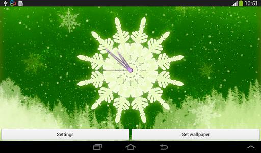 免費個人化App|时钟圣诞节|阿達玩APP