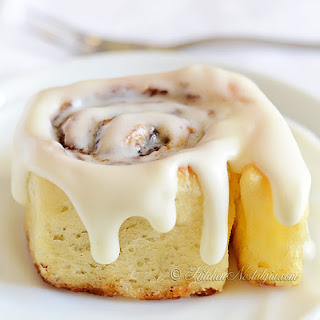 Crazy Dough Cinnamon Rolls