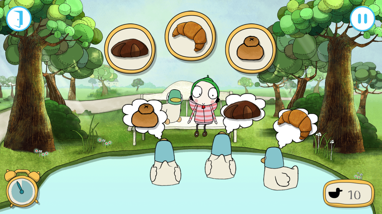 Sarah & Duck - Day at the Park- screenshot