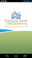Screenshot of National Bank Middlebury App