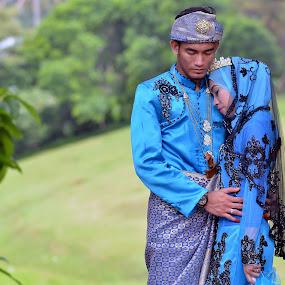 Malay wedding by Tun Izmir - Wedding Bride & Groom ( malay kawin, melayu, malay wedding, melayu kawin, kawin, malay, malaysia )