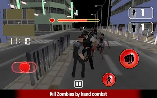 Screenshot of Zombies Hand Fight 3D
