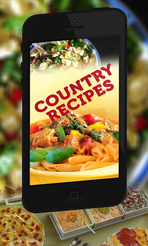 Country Recipe Book- screenshot
