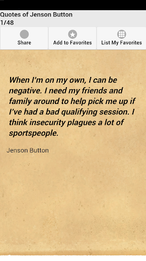 Quotes of Jenson Button