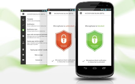 Mic Block - Anti spy & malware Screenshot 14