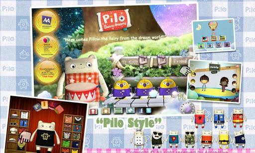 pilo 我是枕头妖精琵珯-音乐游戏-动画书-儿童教育2