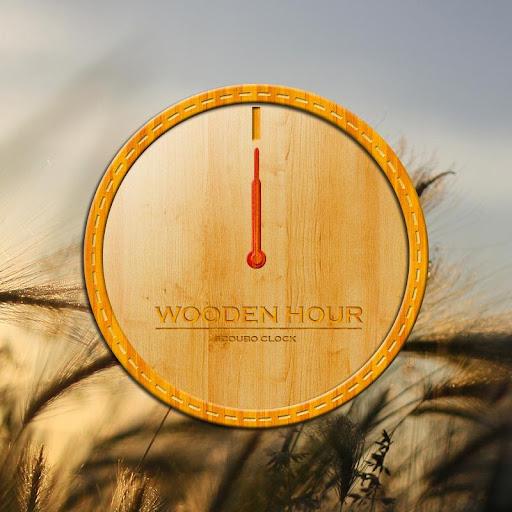 Wooden hour - Scoubo clock