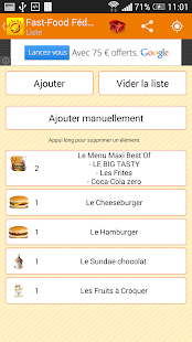 Fast Food Fédération - screenshot thumbnail