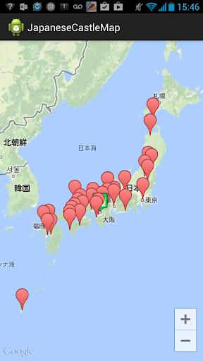 日本のオススメお城マップ1.1