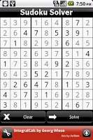 Screenshot of Sudoku Solver