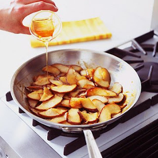 Caramelized Pears.