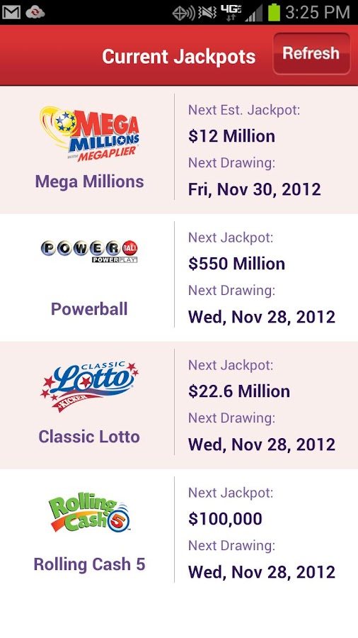 Ohio Lottery - screenshot