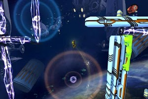 Screenshot of Inertia: Escape Velocity Lite