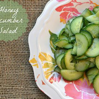 Honey Cucumber Salad