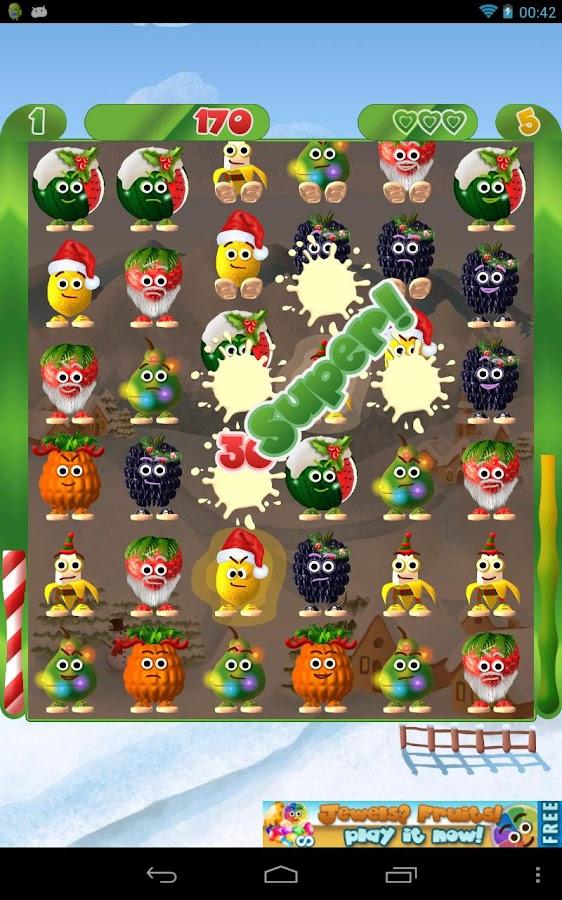 Fruits & Fun Xmas - screenshot