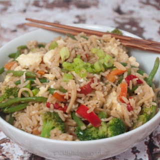 Healthy Fried Rice.