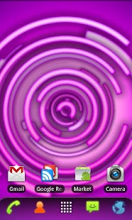 RLW Theme Purple Neon - screenshot thumbnail