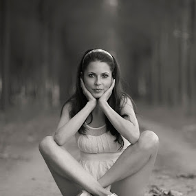 :) by Miroslav Trifonov - People Portraits of Women (  )