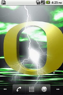 Oregon Ducks LWP - screenshot thumbnail