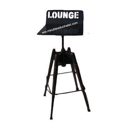 Acheter Tabouret Hauts Lounge Casita A Longfosse Chez Les Meubles Du