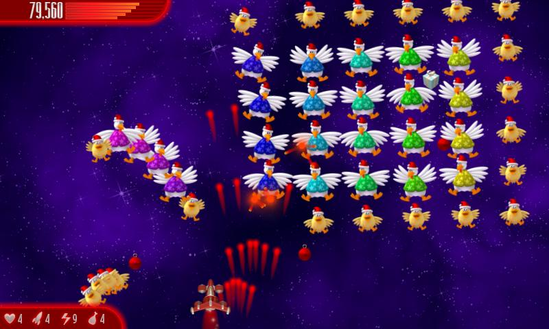 Chicken Invaders 4 Xmas - screenshot