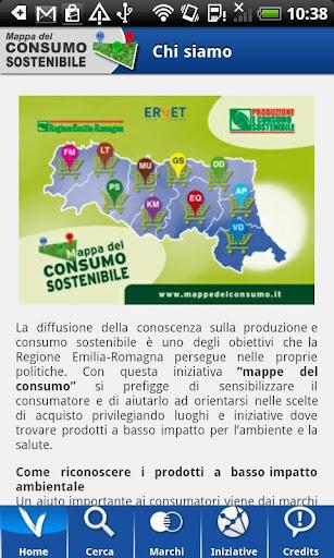 Mappe del consumo sostenibile