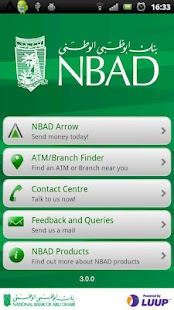 NBAD Arrow App - screenshot thumbnail