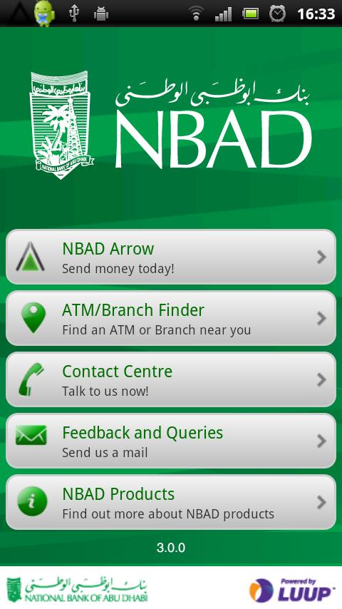 NBAD Arrow App - screenshot