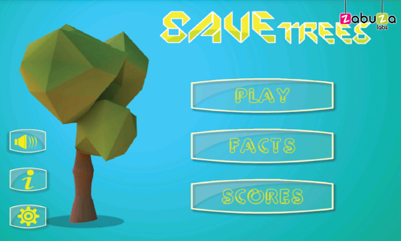 Save Trees Game - screenshot