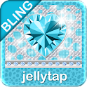 ♦BLING Theme♦ Teal Cheetah SMS icon