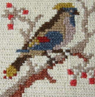Cross Stitch-The Humming Bird