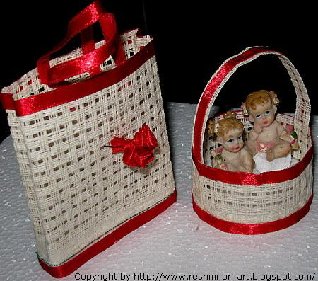 Matte Craft Bag Basket