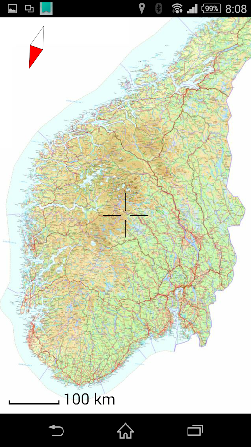MapApp Topo Android Apps On Google Play - Sweden road map download