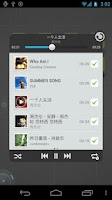 Screenshot of TSF Music Widget