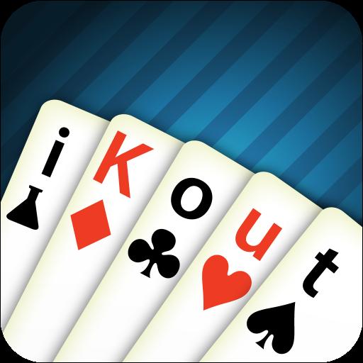 iKout:该KOUT卡游戏 紙牌 LOGO-玩APPs