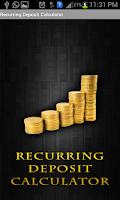 Screenshot of Recurring Deposit Calculator