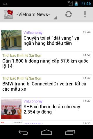 Viet News - screenshot