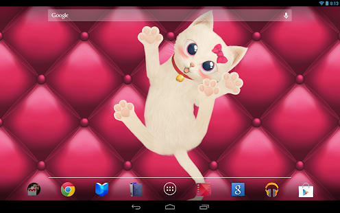 Cat Live Wallpaper - screenshot thumbnail