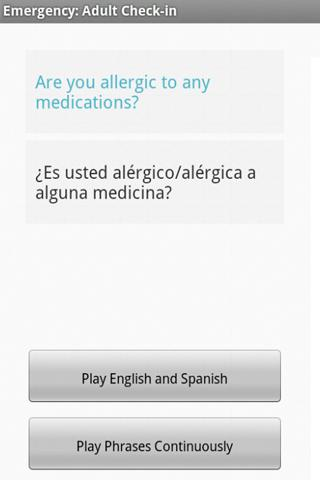 Polyglot Med Spanish - screenshot