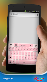 Amazing pink keyboard