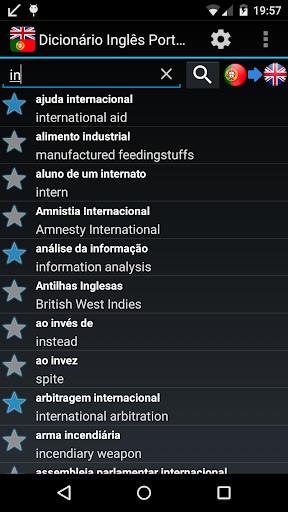 【免費書籍App】English Portuguese dictionary-APP點子