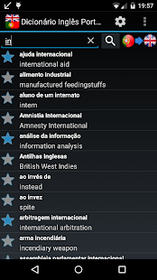 English Portuguese dictionary- screenshot thumbnail