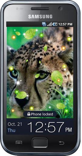 Gepard Photo live Wallpaper