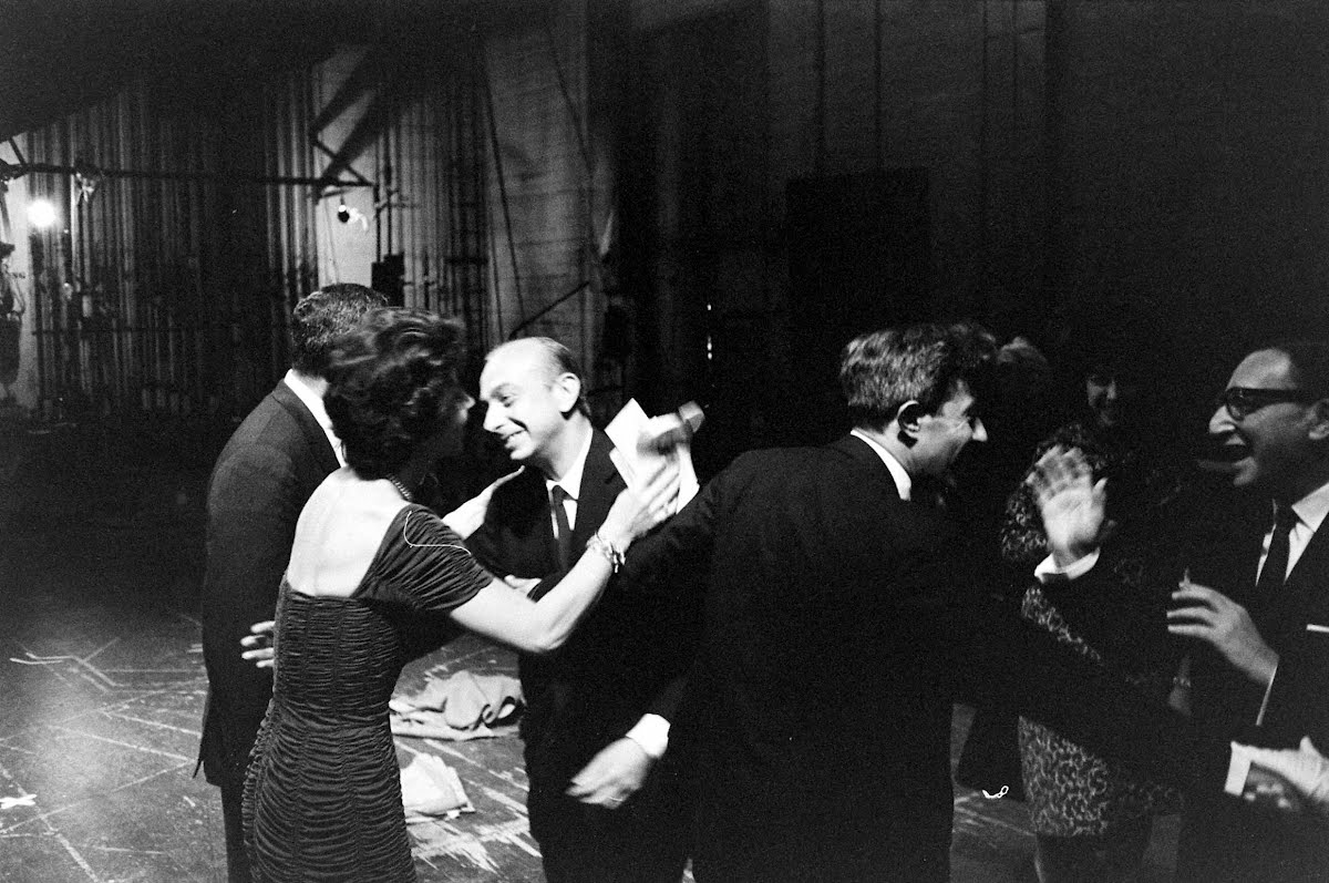 "Betty Comden And Adolph Green After Their One Night Only Benefit Performance Here Of ""A Party"""
