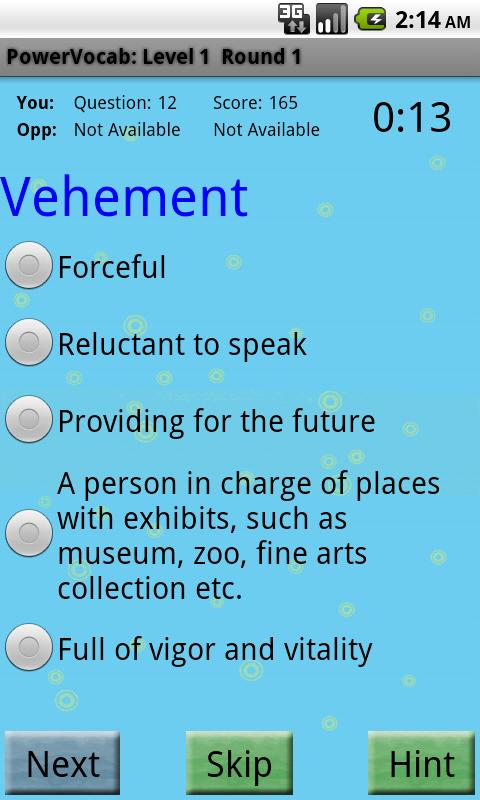 PowerVocab Ultra  Words Pack - screenshot