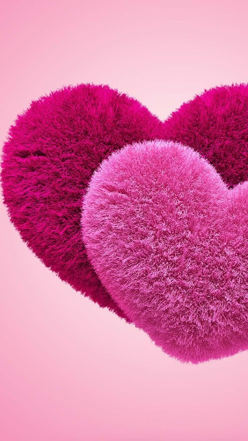 Fluffy Hearts Live Wallpaper- screenshot