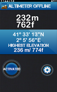 Altimeter Offline- screenshot thumbnail