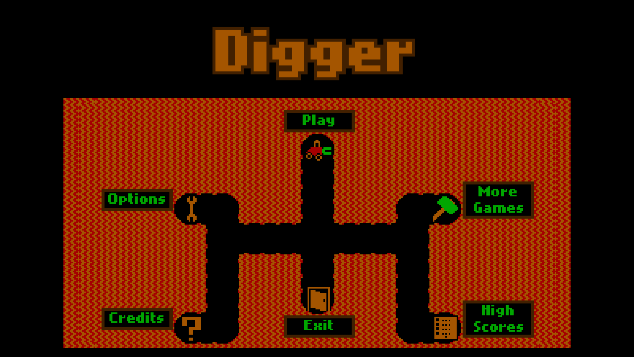 Digger - screenshot